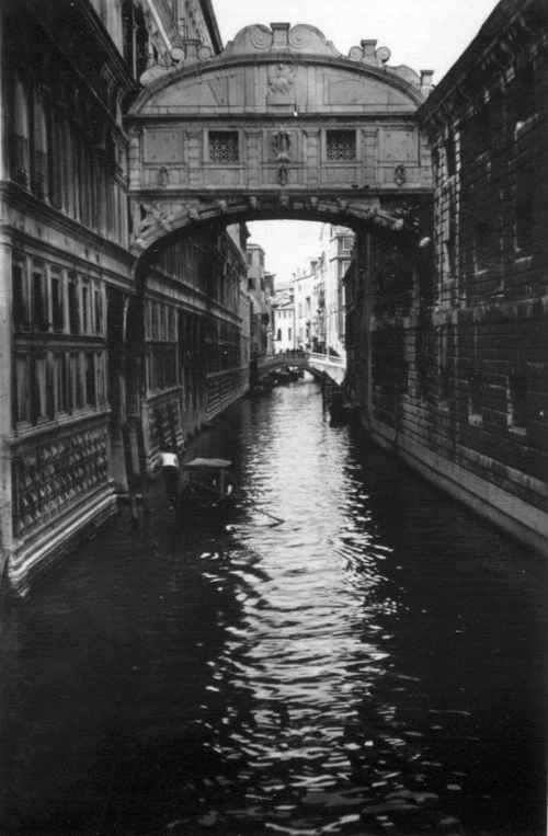Today S Is The Bridge Of Sighs In Venice